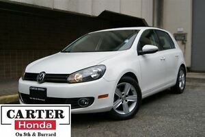 2013 Volkswagen Golf 2.5L Highline + LEATHER + 5 DOOR + SUNROOF!