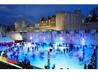 Tower Of London Ice Skating 30+ Tickets Available *CHEAPEST* *ANY DAY OR TIME* RRP £13