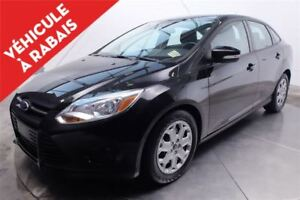 2013 Ford Focus SE A\C SIEGES CHAUFFANTS