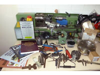Warco Mini Lathe + extras For Sale