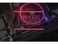 Computers Built to your Budget and Needs!! (READ DESCRIPTION)