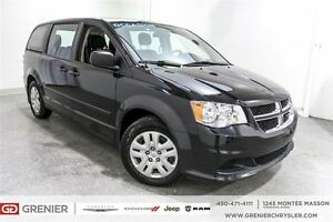 2014 Dodge Grand Caravan SE *Bizone, Stow And Go 3iem Rangée*