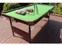 Debut Omega 6ft fold-away snooker table