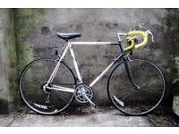 RALEIGH EQUIPE, 23.5 inch, 60 cm, vintage racer racing road bike, 12 speed