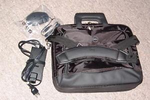 Dell travel case and power adapter