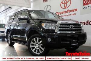 2014 Toyota Sequoia LIMITED TECH PACKAGE NAVIGATION & DVD PLAYER