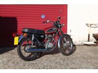 Honda CB125 S Classic vintage motorcycle