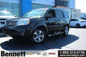 2012 Honda Pilot EX-L -4x4 with Leather seats + Sunroof