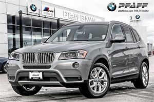 2013 BMW X3 xDrive28i Navi/Backup Camera loaded.