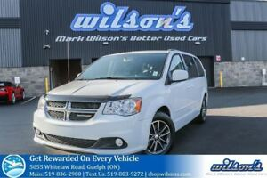 2016 Dodge Grand Caravan SXT 7-PASS! LEATHER TRIM! QUAD CAPTAIN
