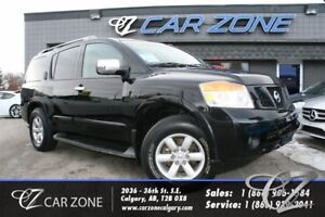 2010 Nissan Armada LEATHER, BACKUP CAM, 8 PASS