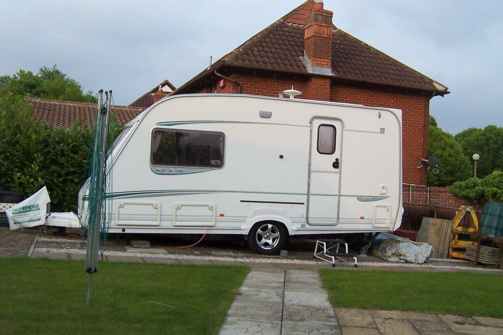 e4f27ee3c7525b ABBEY VOGUE GTS 217 2004 CARAVAN 2 BERTH MUST SEE IMMACULATE LOADS OF EXTRAS