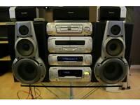 Technics Dv 170 dvd surround stereo system