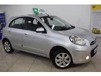 NISSAN MICRA 1.2 ACENTA 5d 79 BHP (silver) 2011