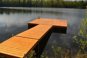 Floating Cedar Docks For Sale Kingston Kingston Area image 2