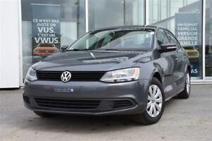 2014 Volkswagen Jetta MANUELLE A/C SIEGES CHAUFF CRUISE BAS KM