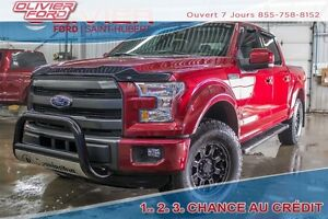 2015 Ford F-150 Lariat 4X4 CUIR TOIT NAV A/C MAGS