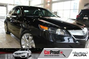 2012 Acura TL Elite with Navigation, Sunroof, Leather and AWD