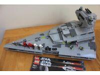 LEGo Star Wars 6211 Star Destoyer - Including minifigures & instructions!