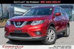 2016 Nissan Rogue SV, PANO ROOF, AWD
