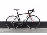 Road bicycle CUBE peloton (new parts) 56 cm SHIMANO 105 groupset amazing fast