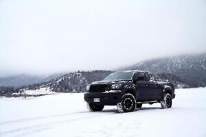 2007-2017 Toyota Tundra Snow Tire Package -  P 275/65/18 Winter Tires on steel rims installed and balanced