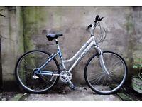 CLAUD BUTLER ODYSSEY, 17.5 inch, ladies womens hybrid road city bike, 21 speed