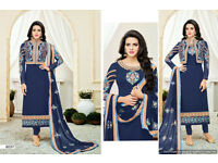 Latest Designer semi stitched unstitched indian suit