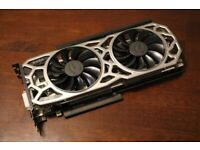 Gtx 1080 TI 11gb Evga with new thermal paste on it graphics card