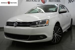 2013 Volkswagen Jetta 2.5L HIGHLINE PKG CAM NAV BT SUNRF LEATHER