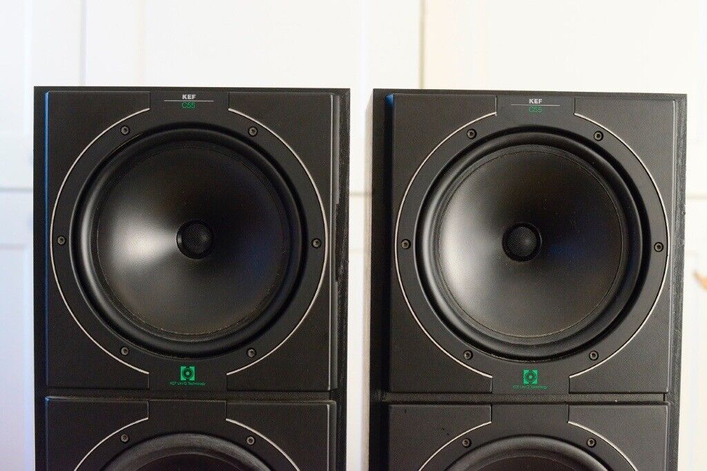 kef c55 speakers for sale