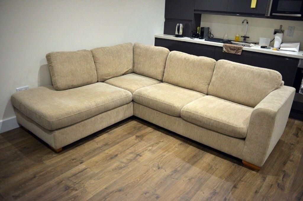 John Lewis Felix Fabric Left Corner Chaise Sofa Lhf