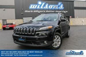 2015 Jeep Cherokee NORTH 4WD! TOUCH SCREEN! CRUISE CONTROL! POWE