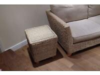 Rattan Bermuda Sofa and side table - marks and spencer