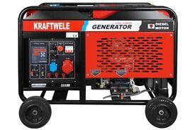 Generator KRAFTWELE SDG18000 Digital 3Phase 18Kva Diesel 2 CYLINDER
