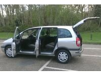 2005 (05 Plate) Zafira Life 5 Door 7 Seater, New MOT (No Advisories) Ready To Go