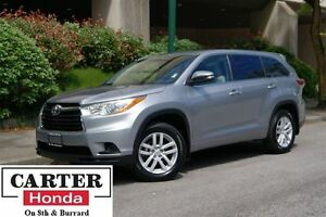 2015 Toyota Highlander LE + AWD + 8 SEATS + ACCIDENTS FREE + LOC