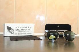 Brand new Randolph Aviator Sunglasses