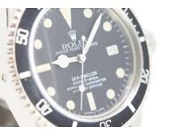 Rolex, Omega, Tudor and other Swiss watches bought working or not