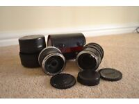 Vivitar Automatic Extension Tube Set 12mm 20mm Japan with free additional