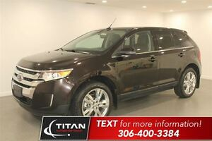 2013 Ford Edge Limited| Auto| Leather| Sunroof| PST Paid!
