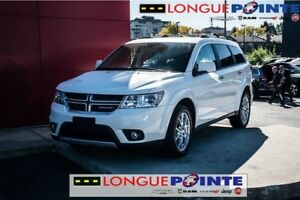 2017 Dodge Journey GT AWD-  LOADED - CUIR - AC BI-zone - BLANCHE