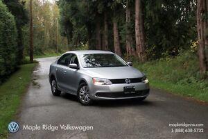 2014 Volkswagen Jetta TRENDLINE+ 2.0L 6-SPEED AUTOMATIC
