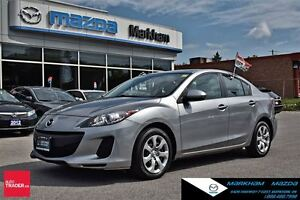 2012 Mazda MAZDA3 GX FWD FUEL EFFICIENT 1 OWNER TRACTION CONTROL