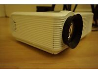 Projector, (HDMI/VGA) Screen and Speakers