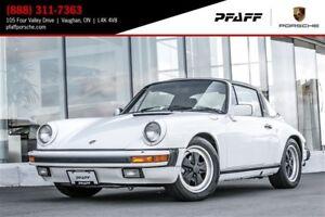 1986 Porsche 911 Carrera Cabriolet TARGA