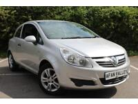 Vauxhall Corsa Breeze 3dr **FULL SERVICE HISTORY** (silver) 2008