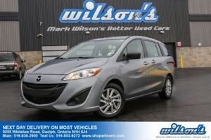 2014 Mazda MAZDA5 GS 6-PASSENGER! POWER PACKAGE! KEYLESS ENTRY!