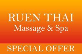 ● Ten minutes extra free at Ruen Thai Massage, Newcastle ●