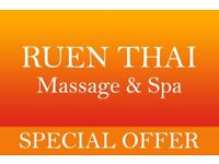 ● Ten minutes extra free at Ruen Thai Massage, Newcastle ●